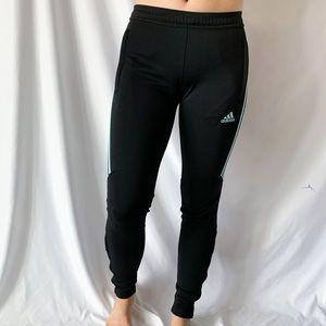 Adidas Active Workout Zip Jogger Black & Mint XS